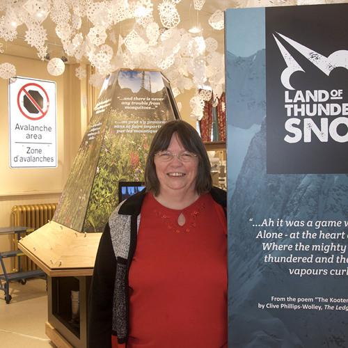Cathy English talks Land Of Thundering Snow
