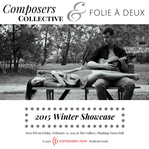 Composers Collective Winter 2015 Concert for Viola Duo