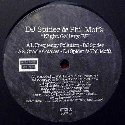 "4 clips from ""Night Gallery EP"" - DJ Spider & Phil Moffa (12"" Vinyl)"