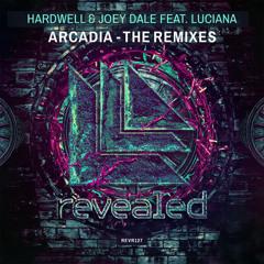 Hardwell & Joey Dale ft. Luciana - Arcadia vs. Hardwell & DallasK - Area 51 (Luxcs Edit) FreeDL