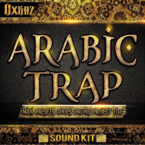 Arabic Trap - MIDI, Massive Sounds, Loops, Drums, Ableton Project by