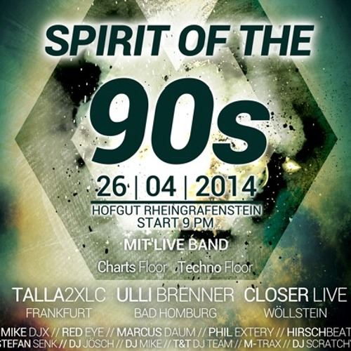 Spirit Of The 90s 2014