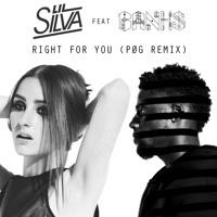 Lil Silva Right For You (Ft. Banks) (PØG Remix) Artwork
