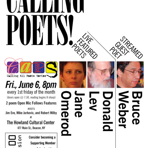 CapsCast, V.3#3 Jane Omerod & Don Lev 6/6/14