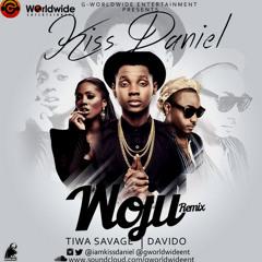 Kiss Daniels - Woju Remix ft Tiwa Savage & Davido