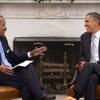 President Barack Obama w/ Joe Madison The Black Eagle