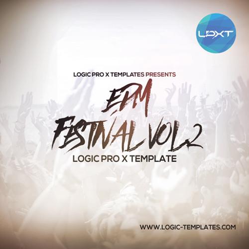 EDM Festival Logic Pro X Vol.2 Template