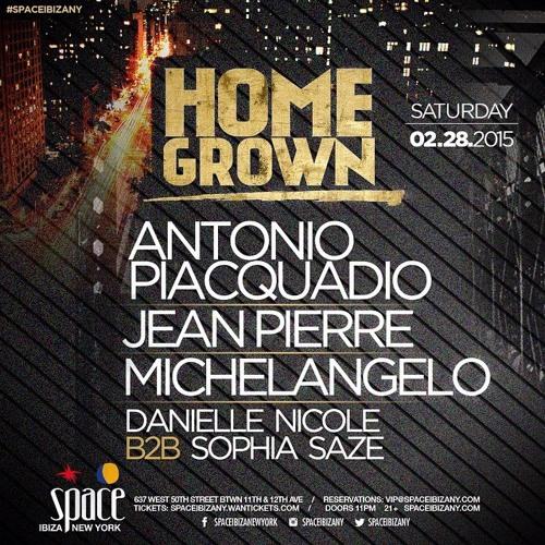 Live at Space Ibiza NY for HomeGrown.2.28