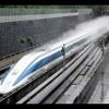 Japanese High Speed Bullet Rain