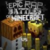 Blaze Vs Snow Golem. Epic Rap Battles Of Minecraft Season 3.
