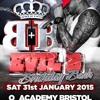 DJ SLY (SDC SET) MC BASSMAN, SPYDA & TRIGGA - EVIL B BIRTHDAY BASH 2015