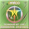 DJ Enrico - Live from Radost FX-techhouse-27-2-2015 incl.tracklist