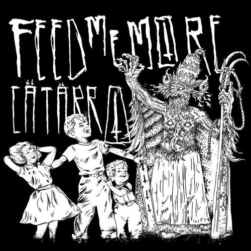 "Feed Me More / Catarro ""Split"" 7 Inch Vinyl Sample"