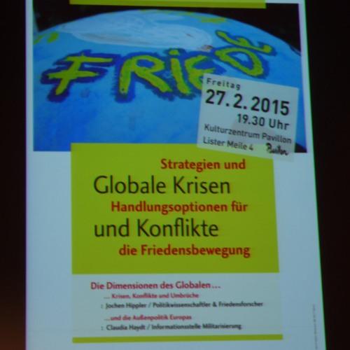 Wiltrud Rösch Metzler - Panel Naher Mittlerer Osten (28.02.15 Strategiekonferenz)