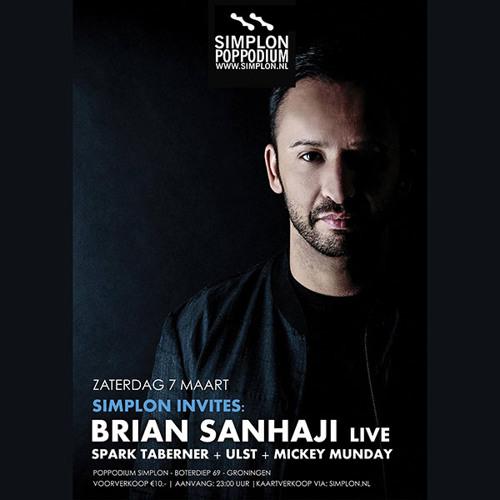Mickey Munday || Simplon invites Brian Sanhaji || Groningen (07-03-2015)