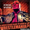 WWE BROCK LESNAR SHOULD MISS WRESTLEMANIA - HHH BOOKER T PROMO - RAW IMPACT RADIO