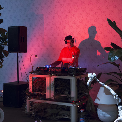 "live performance of ""The Waiting Room in DJ Hell"" @ Perez Art Museum Miami"