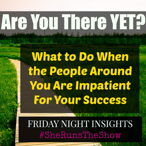 Are You There Yet? How to Answer the Question