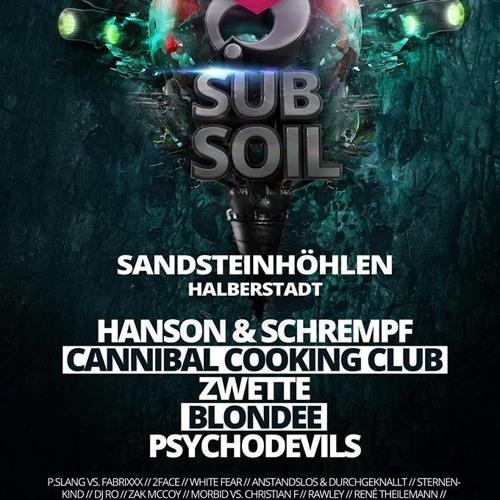 Cannibal Cooking Club live Subsoil Sandsteinhöhlen Halberstadt
