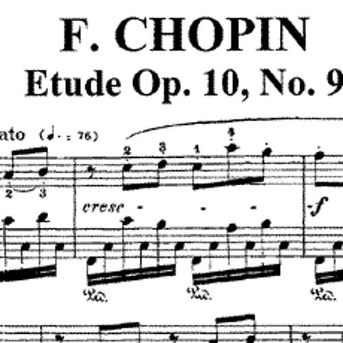 Chopin - Opus 10 N°9