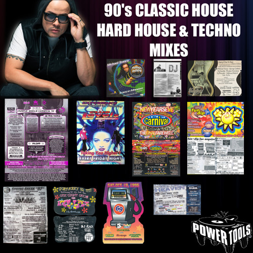 90's Classic House, Hard House & Techno Mixes by Dj Michael