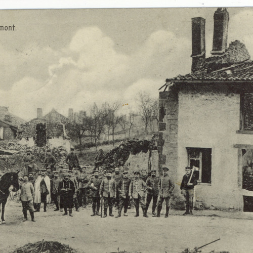 Opas Krieg - Feldpostkarte vom 11.03.1915