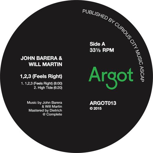 John Barera & Will Martin - 1,2,3 (Feels Right) [ARGOT013 Clips]