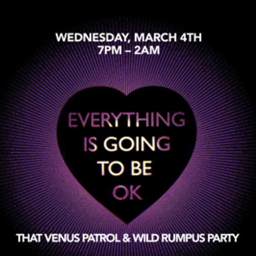 Live @ That Venus Patrol & Wild Rumpus Party (San Francisco) 4.3.2015