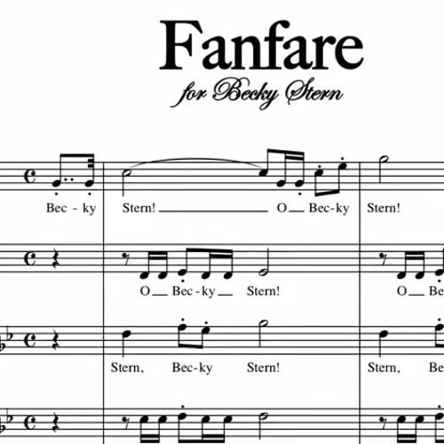 Fanfare for Becky Stern