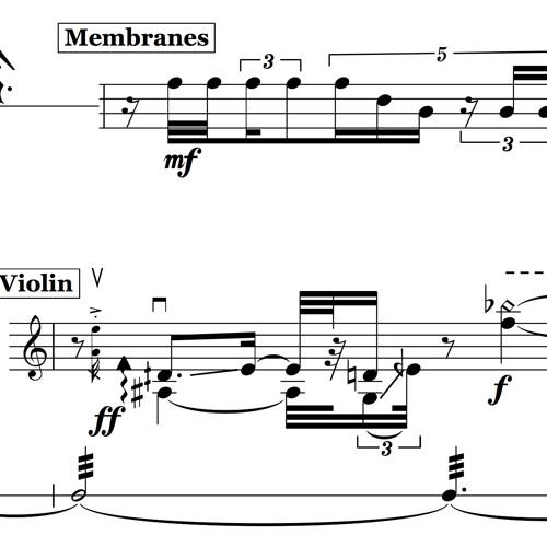 A Discursive Dialogue for violin, cello, and percussion (2012) [studio]