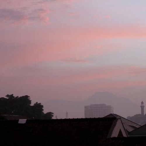 Bandung, West Java, Indonesia. Evening Ambience.