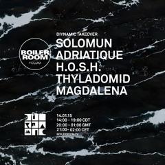 Solomun Boiler Room Tulum DJ Set