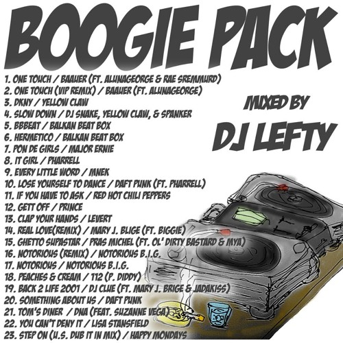 BOOGIE PACK 1/2015   (Promotion MIX / DJ LEFTY)