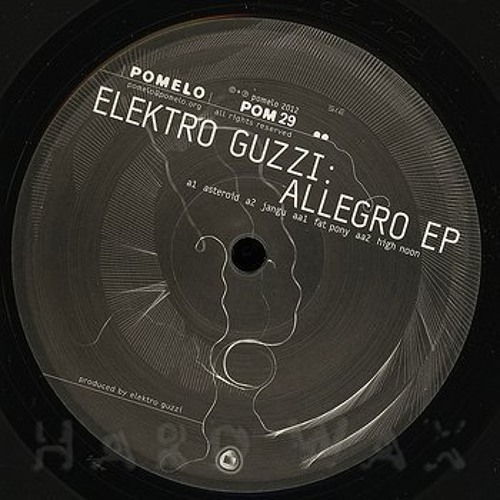 Elektro Guzzi Allegro EP(POM29) - High Noon