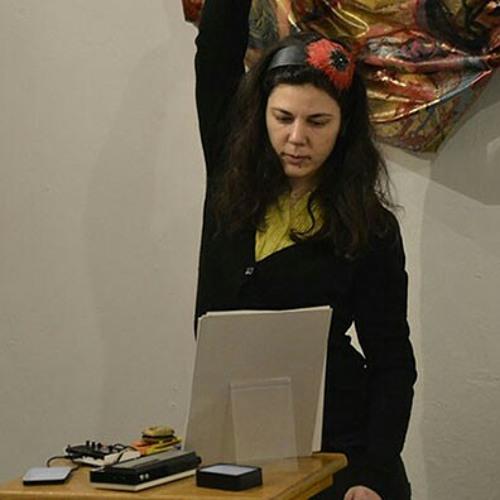 Blanca Regina & Steve Beresford play LemonMelons 15-2-15 at Hundred Years Gallery, Hackney, London, UK