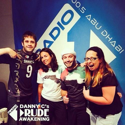 UAE Mixed team interview on Danny C's Rude Awakening