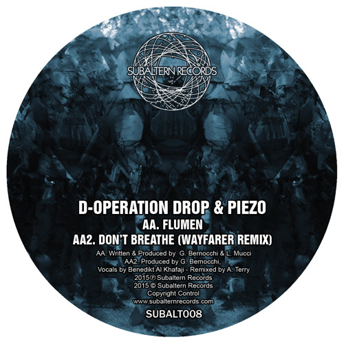 SUBALT008 - D-Operation Drop - Don't Breathe (Wayfarer Remix)- OUT NOW