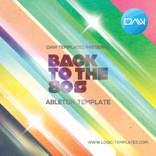 Back To 80s Ableton  DAW Template