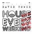 David Zowie House Every Weekend Artwork