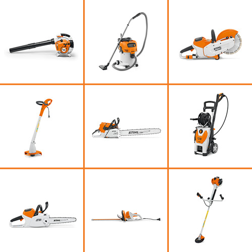 STIHL products in use