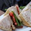 Who Ate Heather Coleman's Turkey Club Sandwich?