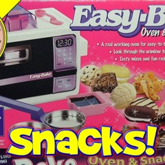 Easy Bake Oven Snack Center, 1997 Kenner Toys - Hasbro M&M Cookie Set - S'mores & Rice Krispies