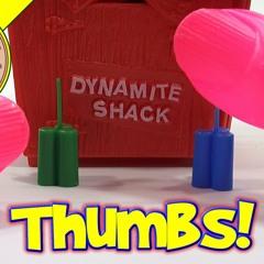 Dynamite Shack Game #4985, 1968 Milton Bradley