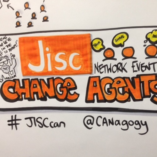 The 'buzz' at the Change Agents' Network event 17 &18 March