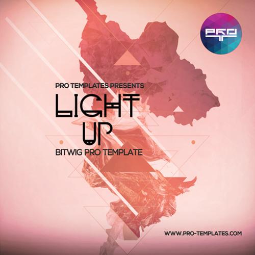 Light Up Bitwig Pro Template