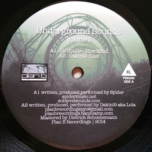 "4 Clips From ""Underground Sounds Vol.03"" - V.A. (PBR040 12"" Vinyl)"