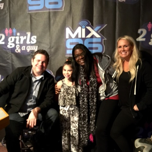 Mix 96FM Ashleigh Hackett with Tanya, Brooke & Mike (2 Guys & a Girl)