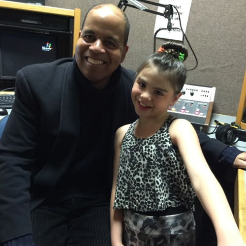 STAR 99.7 FM Ashleigh Hackett with Geno Jones