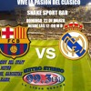 SNAKE CLASICO BARCELONA VS REAL MADRID