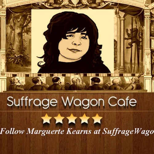 """""""In Her Sphere,"""" a song by Elizabeth Johnson featured at Suffrage Wagon Cafe"""